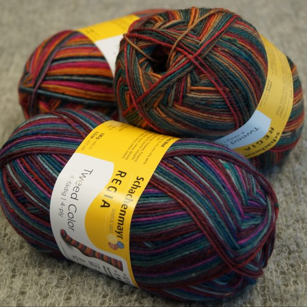 Regia 4-ply Tweed Color